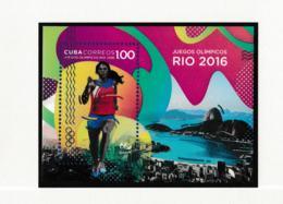 Cuba 2016 Rio De Janeiro Olympic Games - Souvenir Sheet MNH/**  (H59D-3) - Sommer 2016: Rio De Janeiro