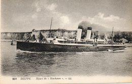Dieppe  Depart Du  NEWHAVEN - Steamers