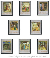 POLONIA (POLAND) - SG 1943.1950 - 1969 MINIATURES FROM BEHEM'S CODE   (COMPLET SET OF 8) - MINT** - RIF. CP - 1944-.... Repubblica