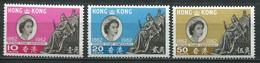 Hongkong Mi# 193-5 Postfrisch MNH - Stamp Centenary - Hong Kong (...-1997)