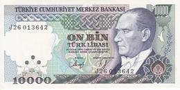BILLETE DE TURQUIA DE 10000 LIRAS DEL AÑO 1970 SIN CIRCULAR - UNCIRCULATED  (BANK NOTE) - Turquia