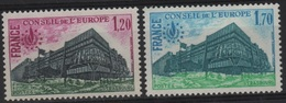 SER 23 - FRANCE Service N° 58/59 Neufs** - Mint/Hinged