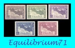 """249/253** Oeuvre Philantropique """"Barquettes"""" / Ten Voordele Van De Oorlogsgewonden """"Bootjes"""" - BELGIQUE / BELGIË - Unused Stamps"""