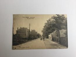 HEIDE BIJ KALMTHOUT 1928  STATIESTRAAT RUE DE LA GARE   HOELEN N° 9507  ZELDZAAM !! - Kalmthout