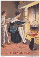 CP - JEAN PARIS - Barré Et Dayez - Barday - Nos Plats Régionaux - Le Riz Au Gras - Cuisine - 1419E - Barday
