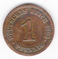 46 - 1 Pfennig - 1902 - D - 1 Pfennig