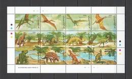 H073 GUYANA ANIMALS DINOSAURS 1SH MNH - Preistorici