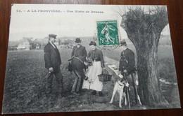 A La Frontière - Une Visite De Douane - Douane