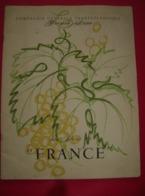 Menu - Liste Des Prix - Carte Des Vins - Wijnkaart Compagnie Générale Transatlantique - French Line - Raymond Gid - Menus