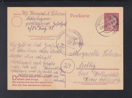 Dt. Reich GSK 1944 Süderlügum Hitler-Jugend Bahn Schleswig - Brieven En Documenten