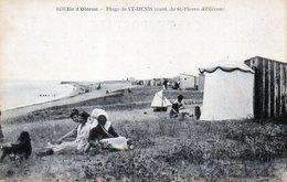 Ile D'Oléron. Plage De St-Denis. (Cant. De St-Pierre D'Oléron). Animée. - Ile D'Oléron