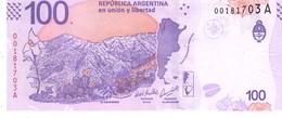 Argentina P.363  100 Pesos 2018 Unc - Argentine