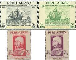 Ref. 95740 * MNH * - PERU. 1953. 500th ANNIVERSARY OF THE BIRTH OF ISABELLA , THE CATHOLIC . 500 ANIVERSARIO DEL NACIMIE - Peru