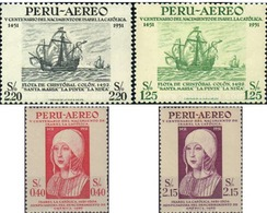 Ref. 581532 * HINGED * - PERU. 1953. 500th ANNIVERSARY OF THE BIRTH OF ISABELLA , THE CATHOLIC . 500 ANIVERSARIO DEL NAC - Königshäuser, Adel