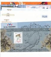 DM-43: FRANCE: Lot De Blocs Souvenir** Sans Carton De 2010  N°47 à 56 (complet) - Blocs Souvenir