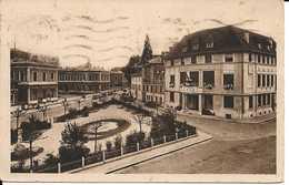 01. CPA. Ain. Bourg-en-Bresse. Chambre De Commerce Et La Préfecture - Autres