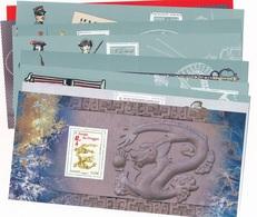 DM-45: FRANCE: Lot De Blocs Souvenir** Sans Carton De 2012  N°67 à 76 (complet) - Blocs Souvenir