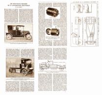 LES NOUVEAUX PROGRES  De La  LOCOMOTION ELECTRIQUE  1924 - Non Classés