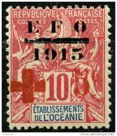 Oceanie (1915) N 39 * (charniere) - Oceania (1892-1958)