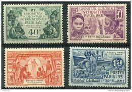 Oceanie (1931) N 80 à 83 * (charniere) - Oceania (1892-1958)