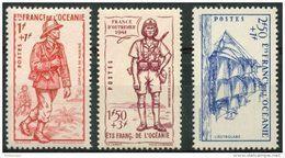 Oceanie (1941) N 135 à 137 * (charniere) - Oceania (1892-1958)