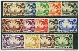 Oceanie (1942) N 155 à 168 * (charniere) - Oceania (1892-1958)