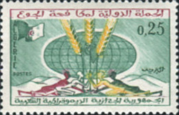 Ref. 163561 * NEW *  - ALGERIA . 1963. WORLD CAMPAIGN AGAINST HUNGER. CAMPA�A MUNDIAL CONTRA EL HAMBRE - Algerien (1962-...)