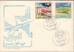 Ref. 546785 * NEW *  - ALGERIA . 1991. AERIAL VIEWS. VISTAS AEREAS - Algeria (1962-...)
