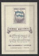 Argentina - 1944 - Nuovo/new MNH - Himno Nacional - Mi Block 5 - Ongebruikt