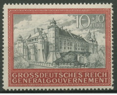 Germania - Generalgouvernement - 1944 - Nuovo/new MNH - Burg Krakau - Mi N. 125 - Occupazione 1938 – 45