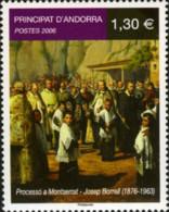 Ref. 196708 * NEW *  - ANDORRA. French Adm. . 2006. PROCESSION IN MONTSERRAT. PROCESION A MONTSERRAT - Ungebraucht