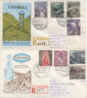 Ref. 257539 * USED *  - ANDORRA. Spanish Adm. . 1963. LANDSCAPE. PAISAJE - Spanish Andorra