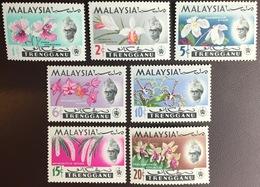 Malaysia Trengganu 1965 Orchids MNH - Orchidées