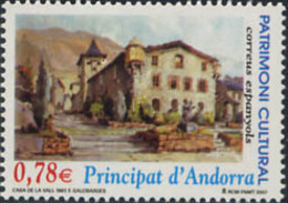 Ref. 213769 * NEW *  - ANDORRA. Spanish Adm. . 2007. CULTURAL HERITAGE. HOUSE OF THE VALLEY. PATRIMONIO CULTURAL. CASA - Ungebraucht