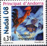 Ref. 223055 * NEW *  - ANDORRA. Spanish Adm. . 2008. CHRISTMAS. NAVIDAD - Spanish Andorra