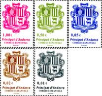 Ref. 314532 * NEW *  - ANDORRA. Spanish Adm. . 2014. BASIC SERIES - COAT OF ARMS. SERIE BASICA - ESCUDO - Spanish Andorra