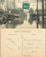 D - [512620]B/TB//-France  - (92) Haut De Seine, Billancourt, Crue De La Seine, Le Hameau Fleuri - Boulogne Billancourt