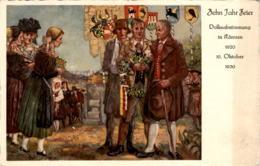 Zehn Jahr Feier - Volksabstimmung In Kärnten 1920 - 10. Oktober 1930 - Non Classificati