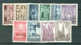 Autriche  Yvert  653/662  Ou  Michel 791/800  Ob B/TB - 1945-.... 2. Republik