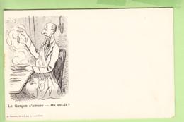 TOURS - Publicité CREMIEUX - Belle Carte Illustrateur Avec énigme à Résoudre : Où Est-il ? - Dos Simple - 2 Scans - Advertising