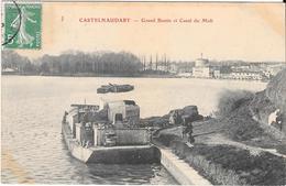 CASTELNAUDARY - Grand Bassin Et Canal Du Midi - Castelnaudary