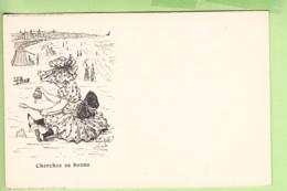 TOURS - Publicité CREMIEUX - Belle Carte Illustrateur Avec énigme à Résoudre : Cherchez La Bonne - Dos Simple - 2 Scans - Advertising