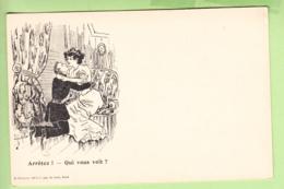 TOURS - Publicité CREMIEUX - Belle Carte Illustrateur Avec énigme à Résoudre : Qui Vous Voit ?  - Dos Simple - 2 Scans - Advertising