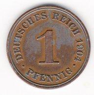 53 - 1 Pfennig - 1904 - D - 1 Pfennig