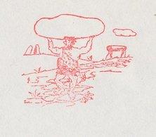 Meter Cover Netherlands 1983 Caveman - Dolmen - Megalith - Echt - Préhistoire