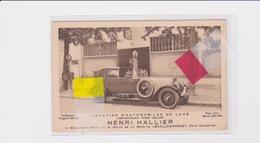HENRI HALLIER LEVALLOIS PERRET 92 LOCATION VOITURES HISPANO SUIZA VOISIN DELAGE - Passenger Cars