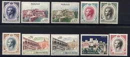 MONACO - 523/550A** - ANNEE 1960 COMPLETE - Monaco