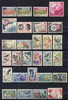 MONACO - 571/598** - ANNEE 1962 COMPLETE - Monaco