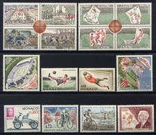 MONACO - 599/635** - ANNEE 1963 COMPLETE - Monaco