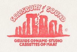 Meter Cover Netherlands 1984 Salisbury Sound - Stonehenge - Dolmen - Megalith - Dordrecht - Preistoria